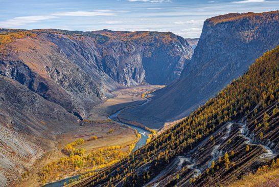 Пътят до Телецкото езеро: Перевал Кату-Ярык, Katu-Yaryk Pass