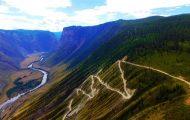 Пътят до Телецкото езеро: Проходът Кату-Ярик, Перевал Кату-Ярык, Katu-Yaryk Pass