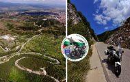 Проходът Попови ливади – Popovi Livadi Pass: Шосе 198