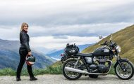 На лов за спомени с мотоциклет – интервю с Хана Йохансон