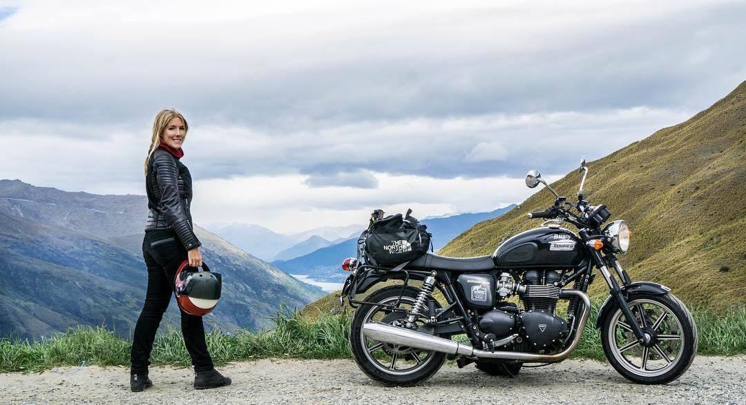 На лов за спомени с мотоциклет - интервю с Хана Йохансон