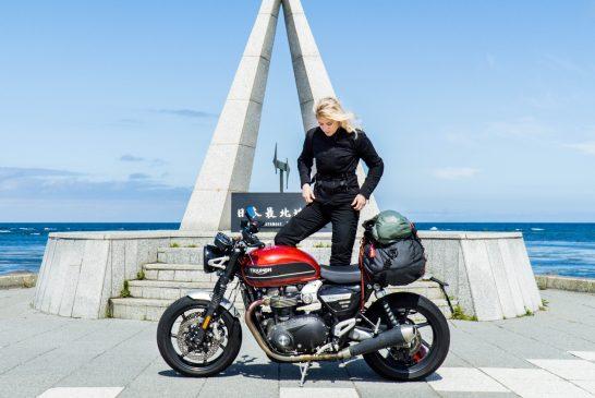 15 жени, които обикалят света с мотоциклет сами: 09 – Хана Йохансон