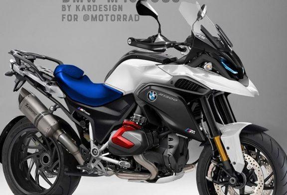 BMW подготвя М серия при мотоциклетите. Ето как ще изглежда GS1300 M-Power