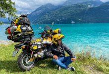 """Андре Суза от Португалия е изминал 24 225 км от май до септември и в момента е в България. """"Не е задължително да имаш голям мотоциклет с огромна кубатура, за да обиколиш света"""", казва Андре Суза, заел се да стори това с легендарната Honda Monkey. За 120 дни, от май до септември, младежът е изминал 24 225 км по суша. Днес 25-годишният португалец е посетил сервиза на Honda на бул. """"Челопешко шосе"""" 40 в София за смяна на масло и регулярно обслужване мотоциклета. Пътешественикът ще остане за няколко дни в България, преди да продължи през Гърция и Турция за Пакистан, Индия, Мианмар, Тайланд, Лаос, Камбоджа, Малайзия и Сингапур. След това Андре ще изпрати 125-кубиковата Honda Monkey в Австралия, където ще пътува от Пърт до Сидни, преди да замине за Южна Америка. Там ще прекоси Колумбия, Панама, Централна Америка, Мексико, САЩ и ще пътува по легендарния Route 66. Но ще се отклони от него, за да посети Ню Орлиънс, а след това ще поеме на север по крайбрежието към Ню Йорк и Канада, откъде ще се върне в Европа. Тук ще дообиколи страните, които не е успял да посети в началото на пътешествието си и после ще се повози из Африка."""