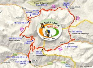 Проходът Села - Passo Sella: емблемата на Доломитите