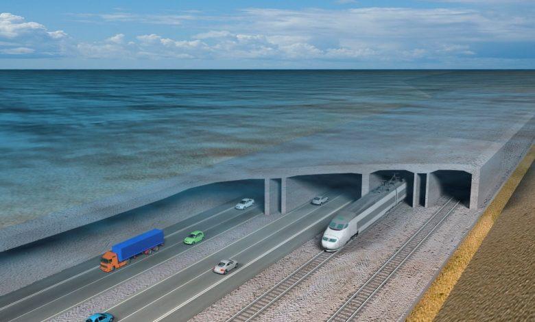 Най-дългия авто падводен тунел в света ще свързва Дания и Германия