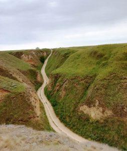 Черните пътища около каньонът Станислав I Мото отбивки