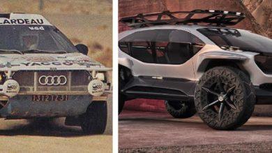 Audi ще атакува Дакар'22 след 35 години. Този път с ел. вседеход