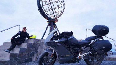 Мириам Орланди измина 7000 км до Нордкап с електрическия Zero SR/S