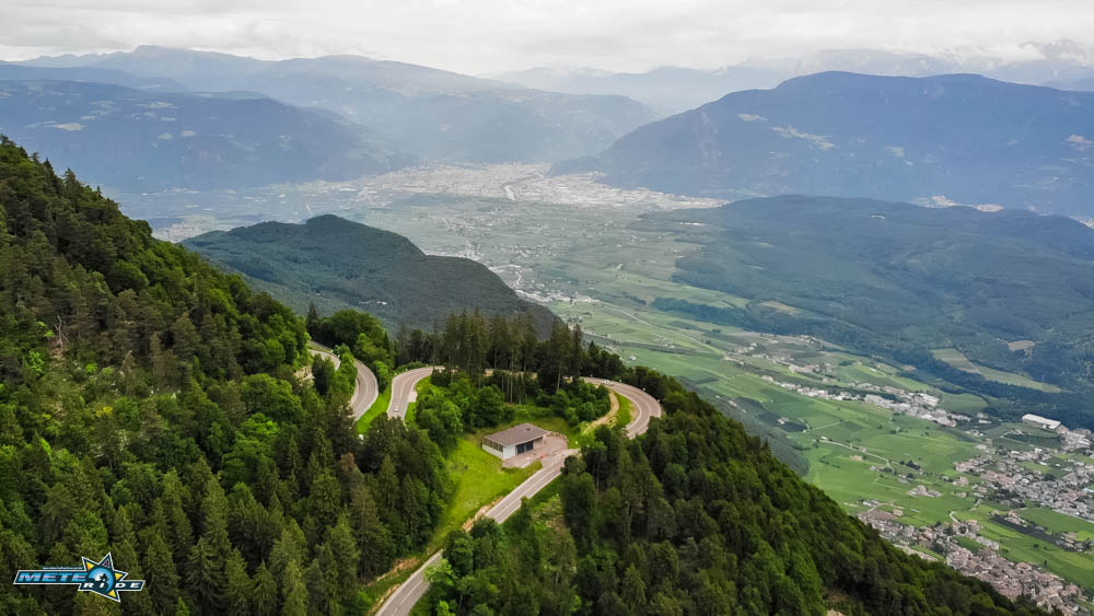 Проходът Мендола - Passo della Mendola SS42