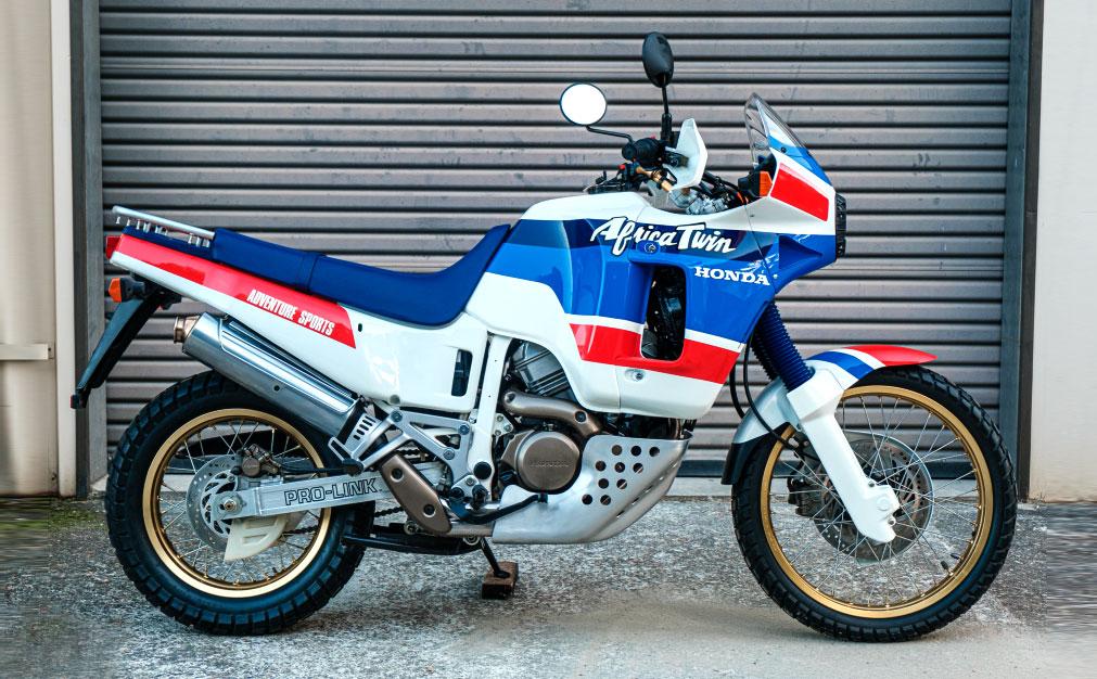 Honda Africa Twin от 1989, продадена за 37 хиляди долара