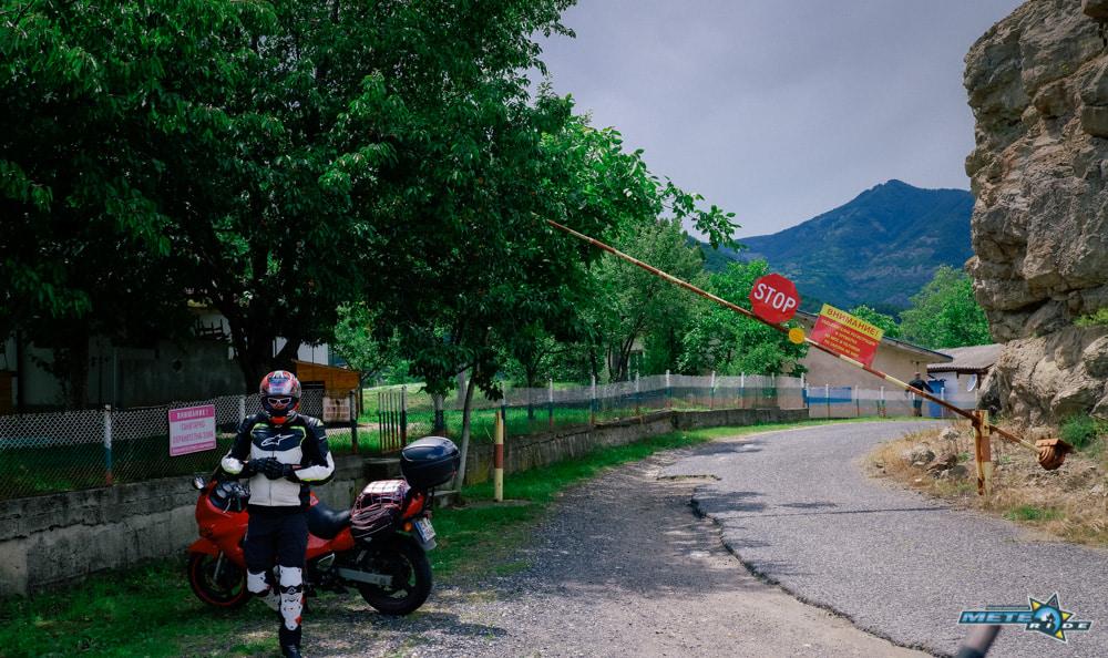 Дъждовница - яз. Боровица - Комунига: Borovitca Dam Pass